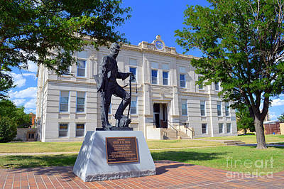 George Washington Carver Photograph - Ness County Courthouse In Kansas by Catherine Sherman