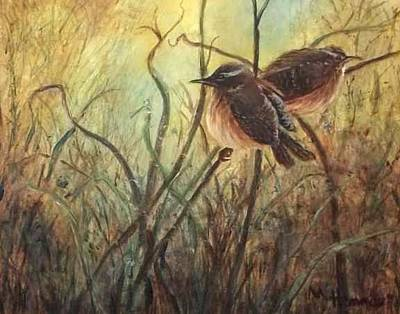 Painting - Nesting Ground by Mary Lou Henne