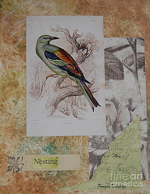 Painting - Nesting by Tamyra Crossley