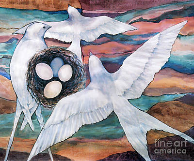 Nesting Art Print by Ursula Freer