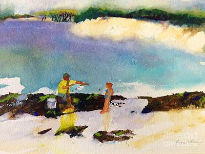Painting - Net Fishing by Joanne Killian