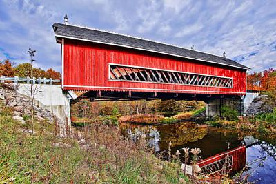 Wow Photograph - Netcher Rd Bridge by Marcia Colelli