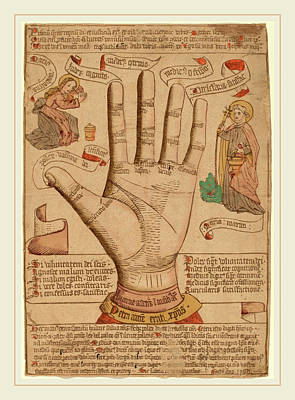 Netherlandish 15th Century, The Hand As The Mirror Art Print