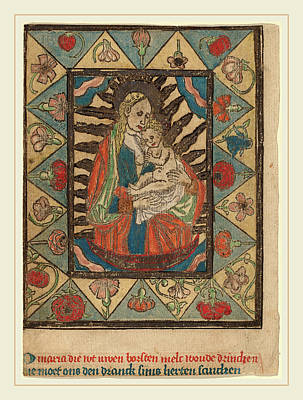 Netherlandish 15th Century, The Madonna And Child Art Print
