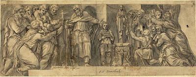Netherlandish 16th Century After Polidoro Da Caravaggio Art Print by Quint Lox