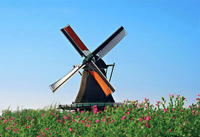 Mechanism Photograph - Netherlands, North Holland, Zaanstad by Miva Stock