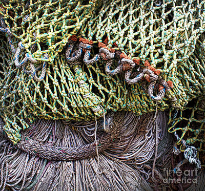 Photograph - Nets And Knots Number Three by Elena Nosyreva