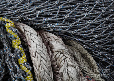 Photograph - Nets And Knots Number Two by Elena Nosyreva