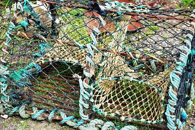 Photograph - Nets And Traps by Charlie and Norma Brock