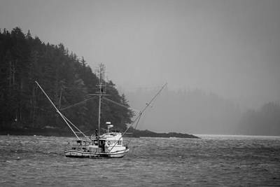 Photograph - Nets Down by Melinda Ledsome