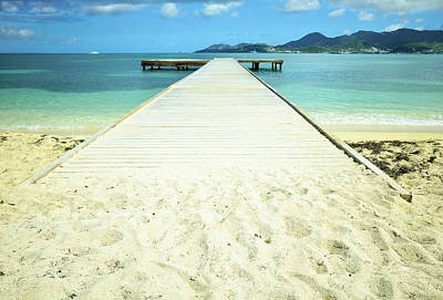 Sint Maarten Photograph - Nettle Bay Dock by Luke Moore