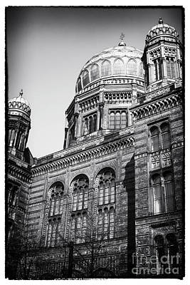 Photograph - Neue Synagogue by John Rizzuto