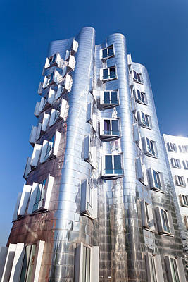 Neuer Zollhof Building Designed Print by Panoramic Images