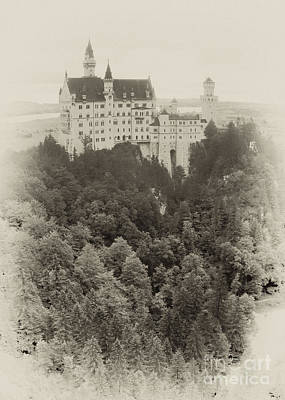 Photograph - Neuschwanstein Castle 13 by Rudi Prott