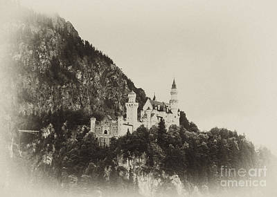 Photograph - Neuschwanstein Castle 14 by Rudi Prott