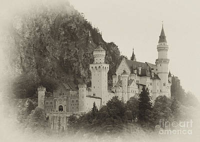 Photograph - Neuschwanstein Castle 15 by Rudi Prott