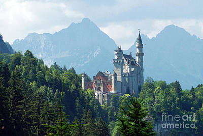 Photograph - Neuschwanstein Castle 16 by Rudi Prott