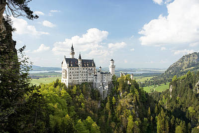Ludwig Photograph - Neuschwanstein Castle by Francesco Emanuele Carucci