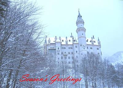 Photograph - Neuschwanstein Castle by Gordon Elwell