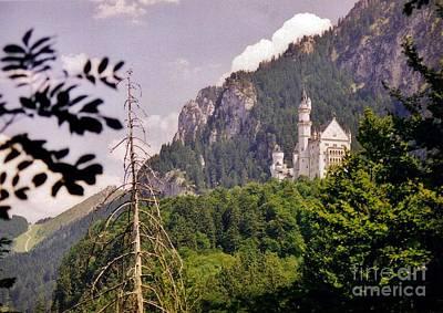 Neuschwanstein Castle Art Print by Halifax Artist John Malone