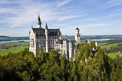 Photograph - Neuschwanstein Castle In Bavaria Germany by Pam  Elliott