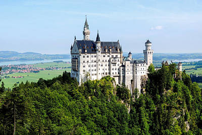 Photograph - Neuschwanstein Castle In Germany by Marilyn Burton