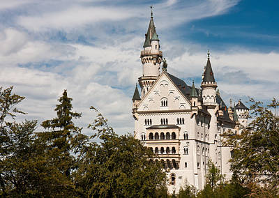 Photograph - Neuschwanstein Castle by Nathan Rupert