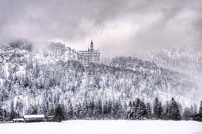 Neuschwanstein Castle Photograph - Neuschwanstein Castle by Ryan Wyckoff