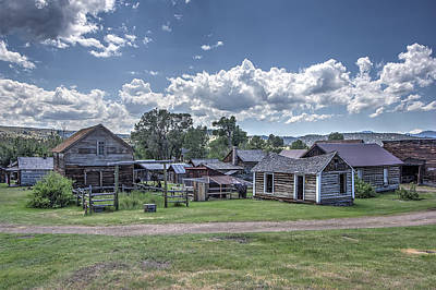 Gravel Road Photograph - Nevada City Ghost Town - Montana by Daniel Hagerman