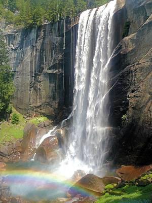 Photograph - Nevada Falls by Jane Girardot