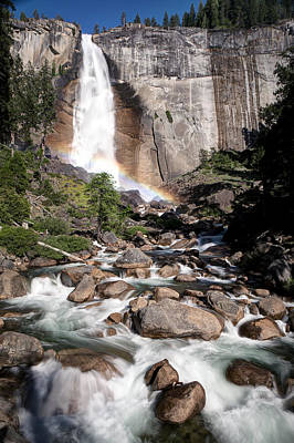 Nevada Falls Yosemite Art Print