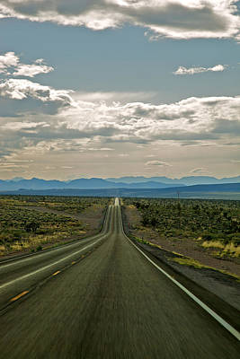 Nevada Road Art Print