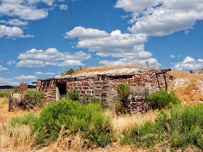 Photograph - Nevada Ruin by Kathleen Bishop