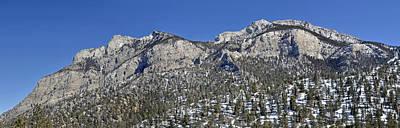 Photograph - Nevada Snow Panoramic by Mark Bowmer
