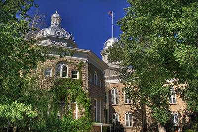 Photograph - Nevada State Capital  by Donna Kennedy