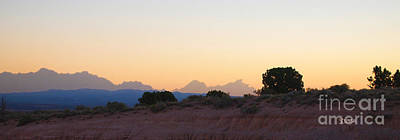 Photograph - Nevada Sundown by Stephen Mitchell