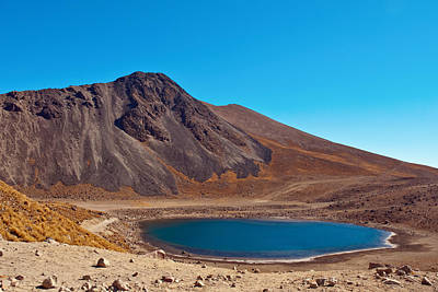 Photograph - Nevado De Toluca Old Volcano Near Toluca Mexico by Marek Poplawski