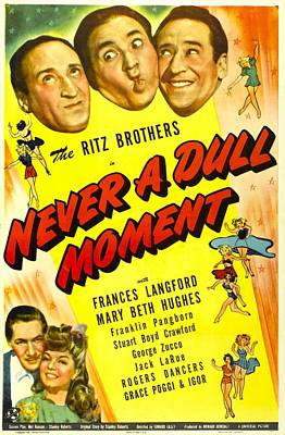 Never A Dull Moment, Us Poster, Top Art Print by Everett