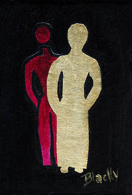 Painting - Never Alone by Donna Blackhall