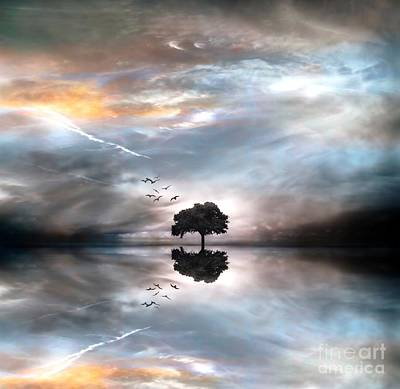 Never Alone Art Print by Jacky Gerritsen