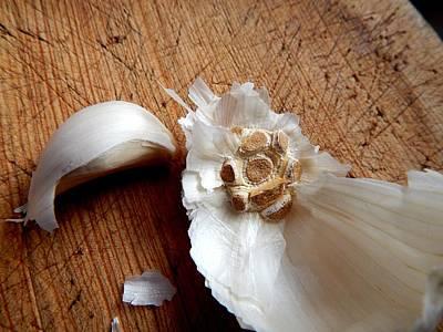 Never Enough Garlic Art Print by Aliceann Carlton