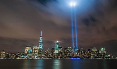 911 Memorial Photograph - Never Forget by Kristopher Schoenleber