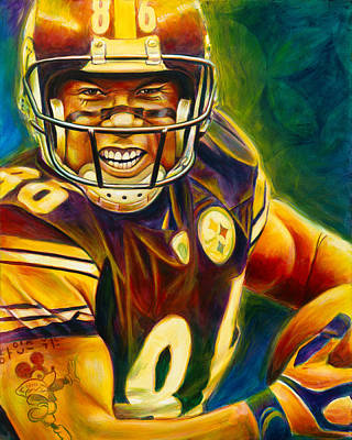 Steelers Painting - Never Forgotten by Scott Spillman