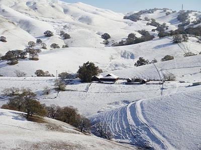 Never Snows In California Art Print