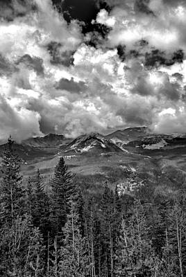 Photograph - Never Summer Mountains by Robert Meyers-Lussier