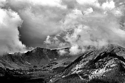 Photograph - Never Summer Mountains Study 2 by Robert Meyers-Lussier