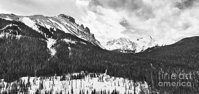 Never Summer Wilderness Area Panorama Bw Art Print by James BO  Insogna