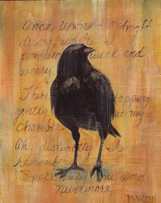 Nevermore I  Original by Peggy Wilson