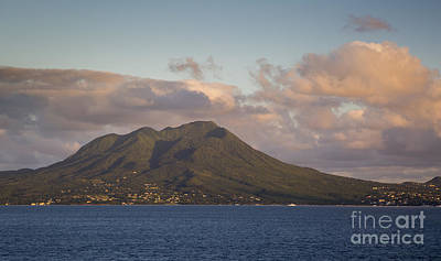 Photograph - Nevis At Sunset by Brian Jannsen