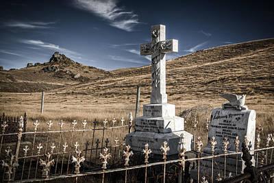 Photograph - Nevis Memorial by Brad Grove